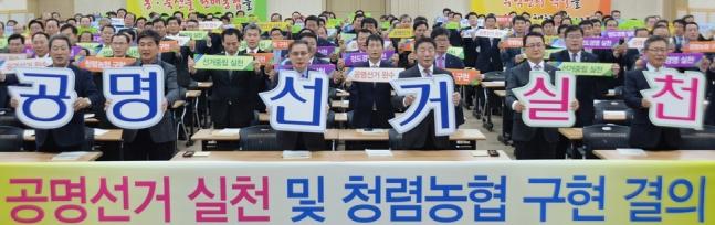 조합장 '깜깜이·돈선거' 그만…선관위가 나섰다