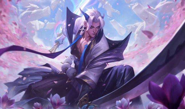 """英雄联盟的新主题""""灵魂之花"""",是如何制作出来的~"""