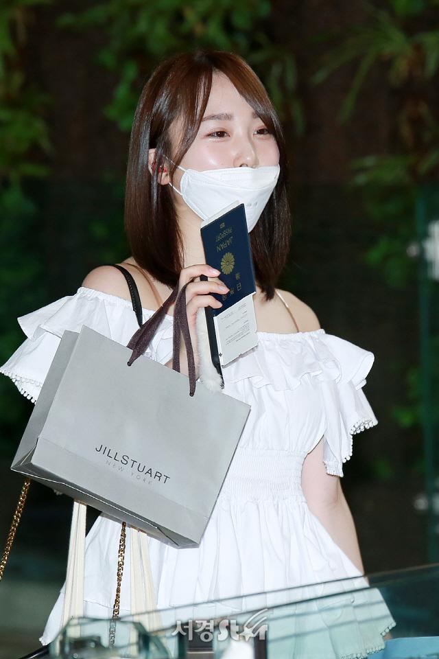 타카하시 쥬리, '일본 금방 다녀올게요~' (프로듀스48)