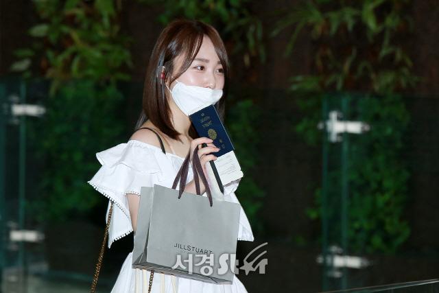 타카하시 쥬리, '예쁨 발산하며 출국~' (프로듀스48)