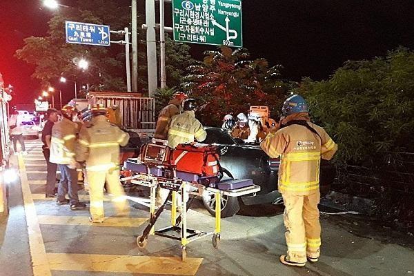 박해미 남편 황민, 음주사고 당시 시속 167km로 '질주'