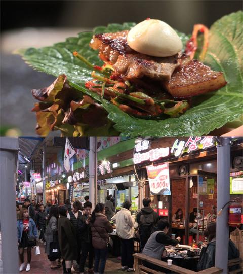 '다큐멘터리 3일' 청주 삼겹살거리 72시간, 서문시장 삼겹살축제 2012년 시작…