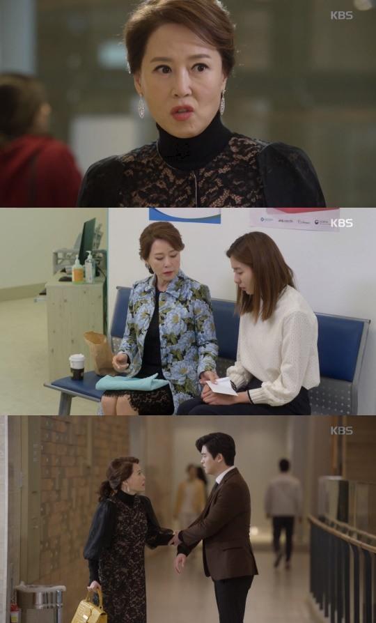 """[팝업★]""""재결합 NO""""..'하나뿐인내편' 차화연, 돈봉투로 보여준 시어머니 포스"""