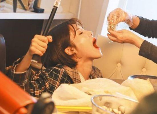 """[#스타샷] 장도연 """"선배님 어머니께서 손수 먹여주신 잡채"""""""