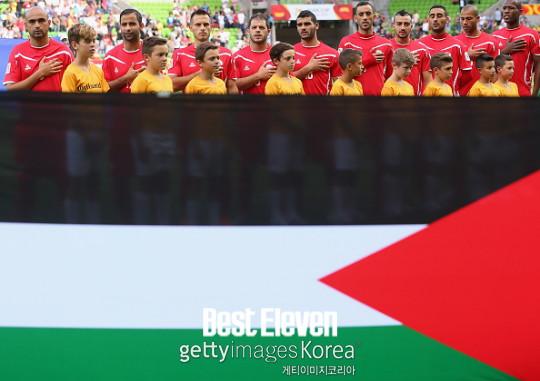 [亞싸라비아] '야망 있는' 팔레스타인, 호주전 결과 노린다