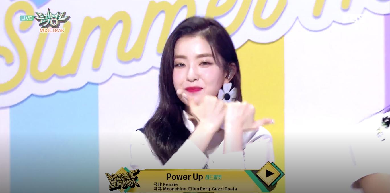 [뮤직뱅크] 레드벨벳, 여름 무더위 날리는 에너지 가득 무대 'Power Up'