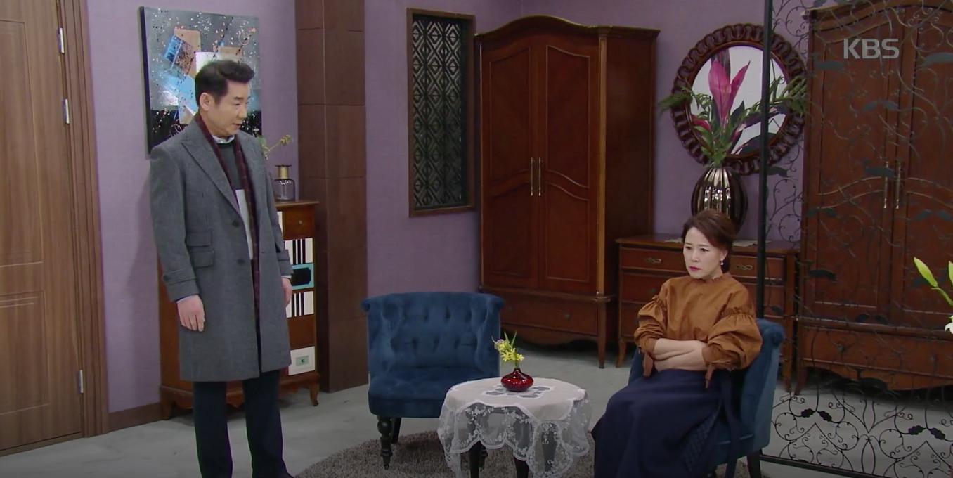 """[하나뿐인 내편] 유이와 이장우 이혼시키려는 차화연에 폭발한 박상원 """"이혼하자, 이혼해!"""""""