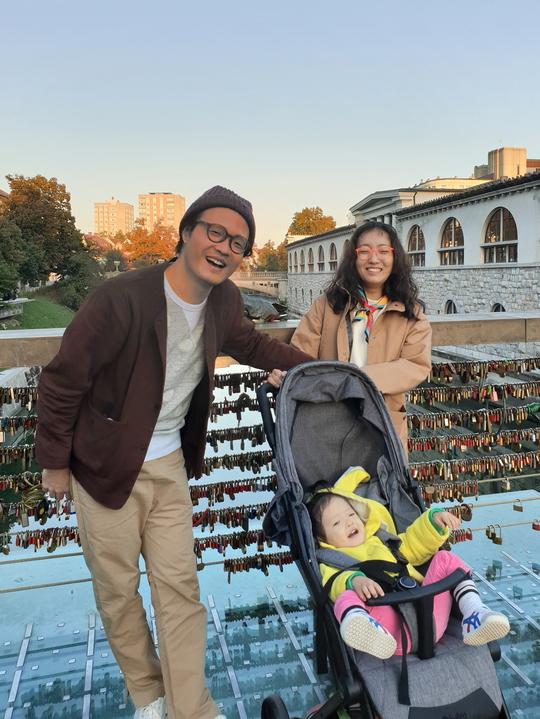 '잠시만 빌리지' 조정치X정인, 19개월 붕어빵 딸과 슬로베니아로