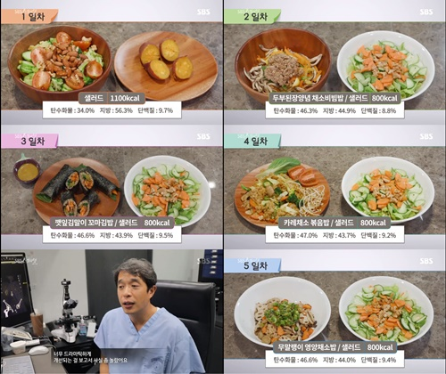 """800~1100kcal 식단 체중감량""...'간헐적 단식 방법' fmd식단은?"
