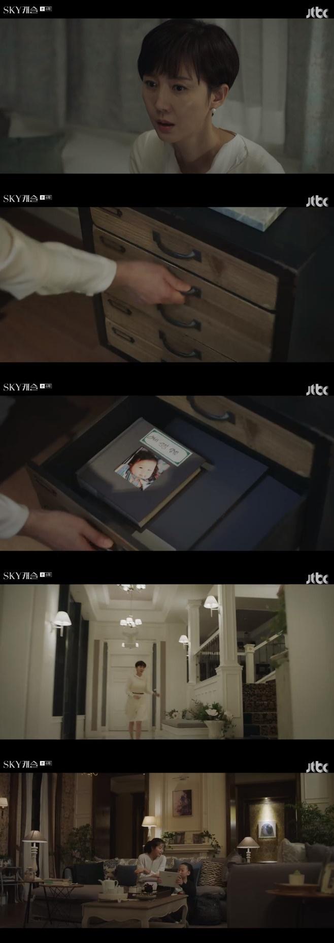 '스카이캐슬' 이태란, 태블릿 PC 봉인 해제 [종합]