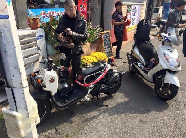 모델 김우영 소형 오토바이 타다 올초 대형으로 바꿔 사망 '더 안타까워'