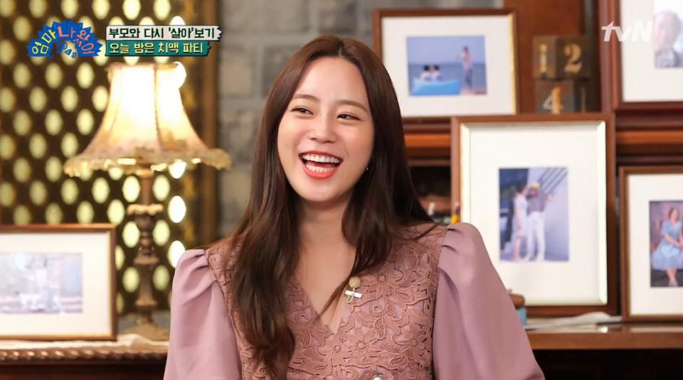 [스타☆톡] 하현우 여친 허영지, 밝은 미소 속 슬픈 사연 눈길…베이비카라, 엄마나왔어, 카라