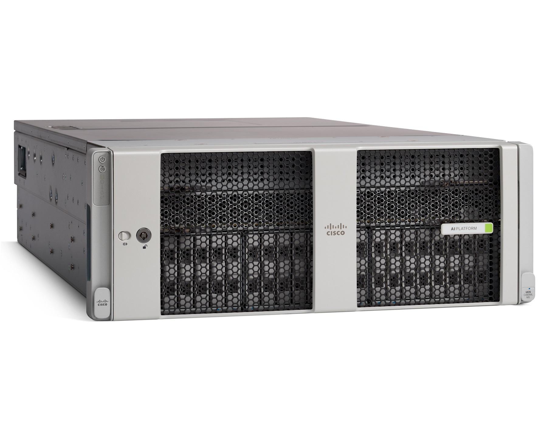 시스코, 신규 인공지능·머신러닝용 서버 플랫폼 출시