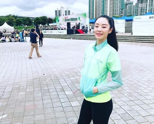 [#별별샷] 스테파니 리, 건강미 넘치는 일상...'마라톤대회'