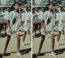'나혼자산다' 한혜진, 충격적인 초등학교때 시절 사진 보니? '이때부터 美친 기럭지'