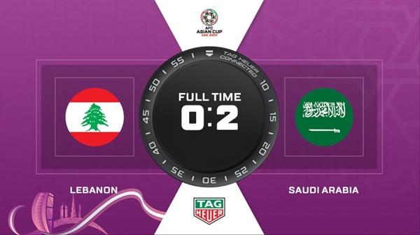 사우디, 레바논에 2-0 승리…16강 진출 확정