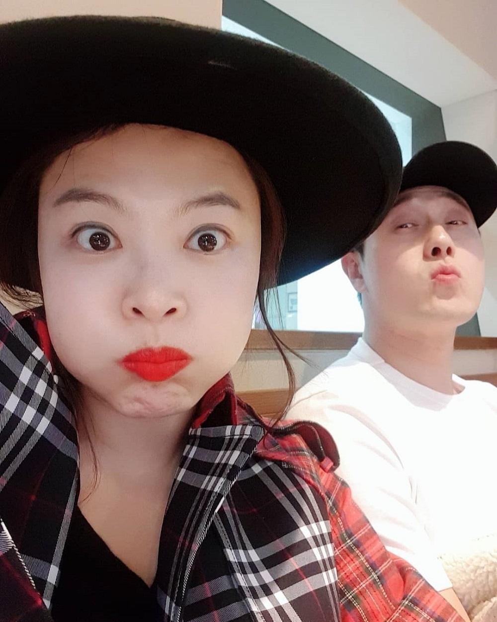 심진화♥김원효, 잉꼬부부의 세상 달달한 셀카…'그저 부러움'