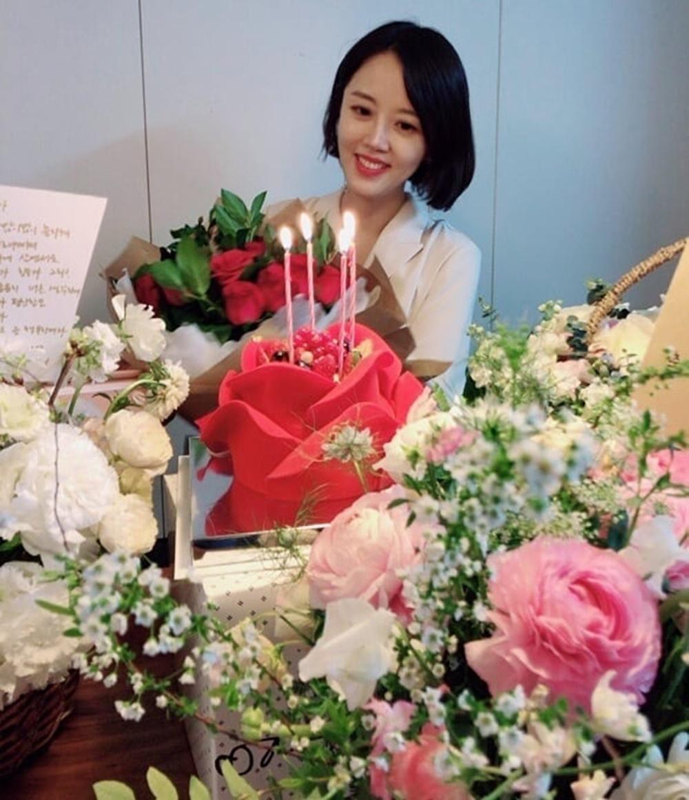 """'문제적 보스' 정준호 아내 이하정, 생일 맞이해 """"꽃 선물 너무 좋아요"""""""