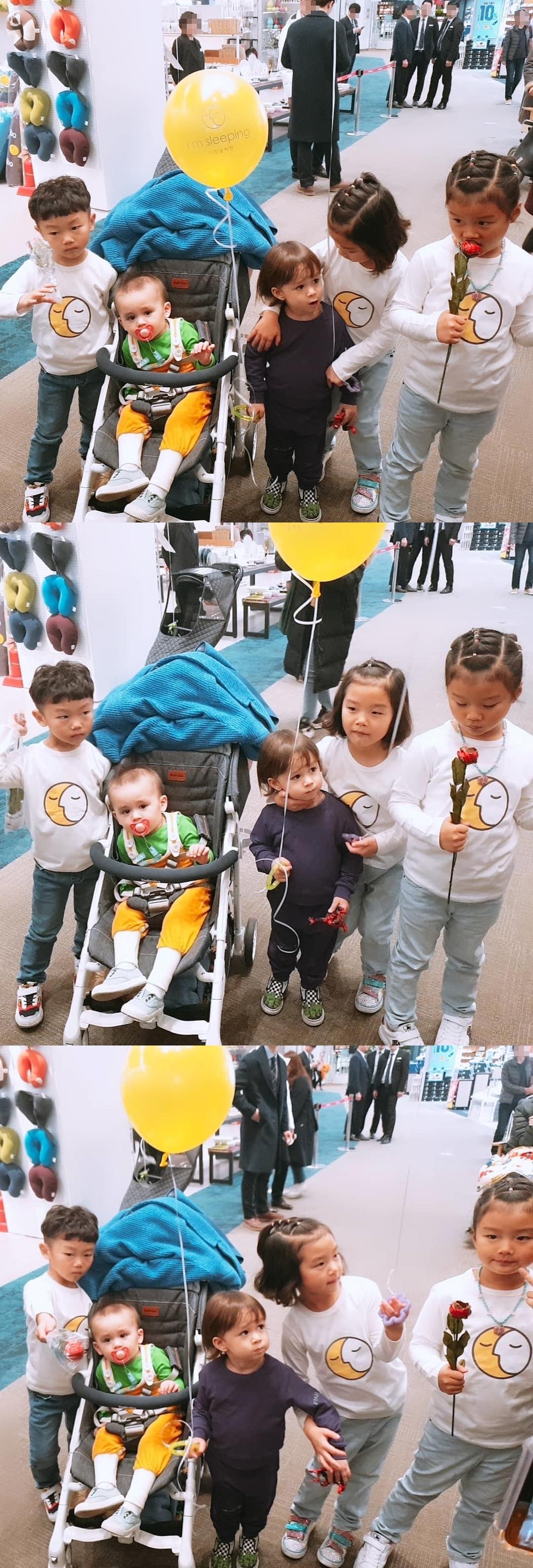 '슈돌' 설아-수아-시안, 윌리엄-벤틀리 급만남 '한 가족같은 친구들'