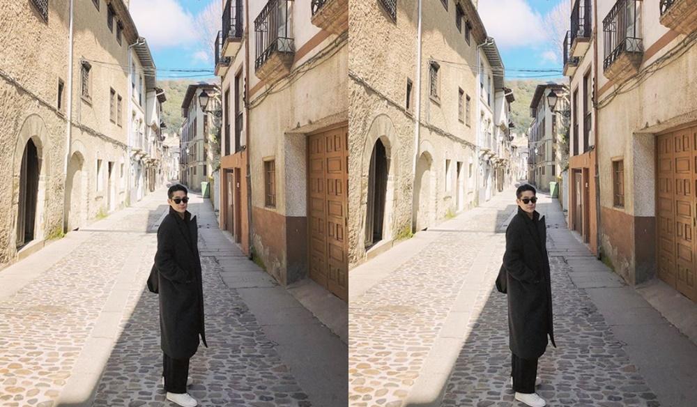 '스페인 하숙' 배정남, 선글라스에 블랙 코트 입었을 뿐인데 '모델 포스 뿜뿜'