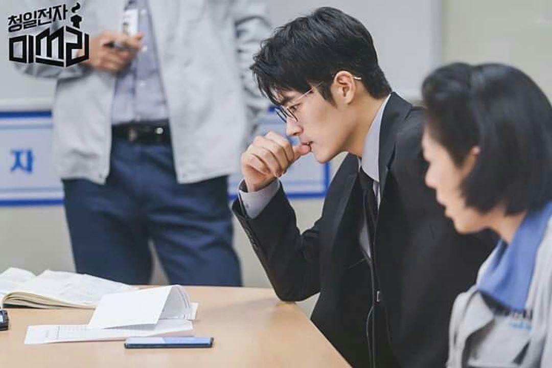 """'청일전자 미쓰리' 차서원, """"오해해서 미안합니다""""…박도준 팀장의 수트핏에 '심쿵'"""