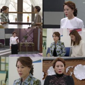"""'하나뿐인 내편' 차화연, 냉랭한 시어머니 """"재결합은 꿈도 꾸지 마라"""""""