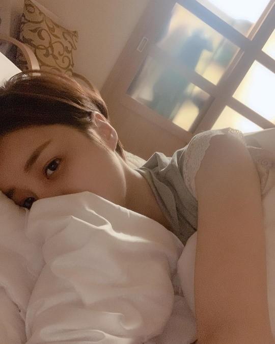 '하나뿐인 내편' 다야 윤진이, 침대에 누워 찰칵 …아름다운 미모 '눈길'