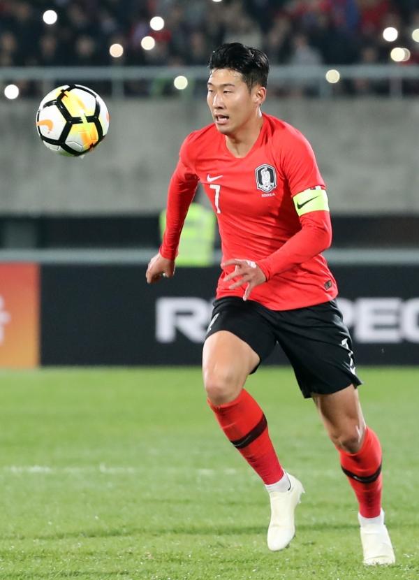 손흥민, '벤투호' 합류 ··· AFC·중국 등 큰 관심
