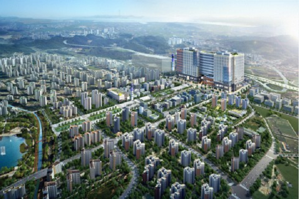 디허브, 김포도시철도 역세권 지식산업센터 디원시티 공급...대림산업 시공