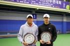 배상우·이영석, 한국대학테니스선수권 남자복식 우승