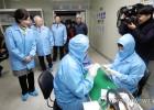 산학협력 중소기업 방문한 유은혜