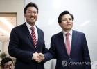 """오세훈 """"황교안 역량 검증될 것""""…황교안 """"통진당 누가 없앴나"""""""