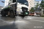 중구, '최악폭염' 도로 살수에 물 7238t 뿌려