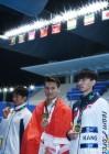 강지석, 남자 배영 50m 동메달…박예린 여자 접영 50m 4위