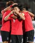 한국, 9월 FIFA랭킹 55위·2계단↑···일본은 54위