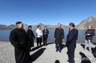 백두산 천지 찾은 남북 정상