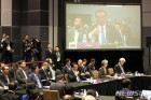 제21차 아세안+3 정상회의 발언하는 리커창 중국 총리