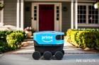 아마존의 자율주행 택배 로봇