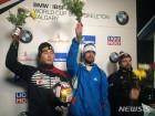 윤성빈, 월드컵 4차대회서 은메달…7연속 메달 쾌거