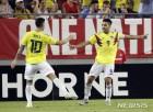 '팔카오 결승골' 일본, 한국 상대할 콜롬비아에 0:1 패
