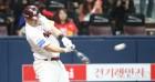 '샌즈, 2.1경기당 1홈런…박병호 앞서' 홈런왕 최대 다크호스
