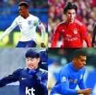 세계 축구 신성들 동에서 서에서 번쩍