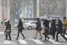 서울 체감온도 -8도…일부 지역 눈