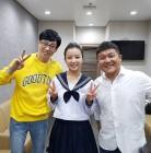 `해투3` 민유라, 유재석 조세호와 다정한 인증샷 `러블리 꽃미소`