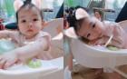 """소이현♥인교진 둘째 딸 소은, 볼살통통 """"애교쟁이♥"""""""