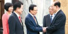 `노쇼 논란` 與野 대표, 김영남은 만났다