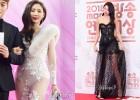한초임 vs 한혜진 드레스, 사진으로 비교해보니...