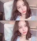 한예슬, 감기에도 굴하지 않는 미모…'부스스해도 예뻐'