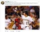 강정호 취업비자 연장 소식에 美언론 큰 관심, MLB 뛸 수 있다!