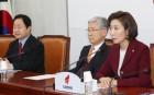 """""""몸통 보호 위해 야단법석""""···한국당, 與 '김경수 구하기' 맹비난"""